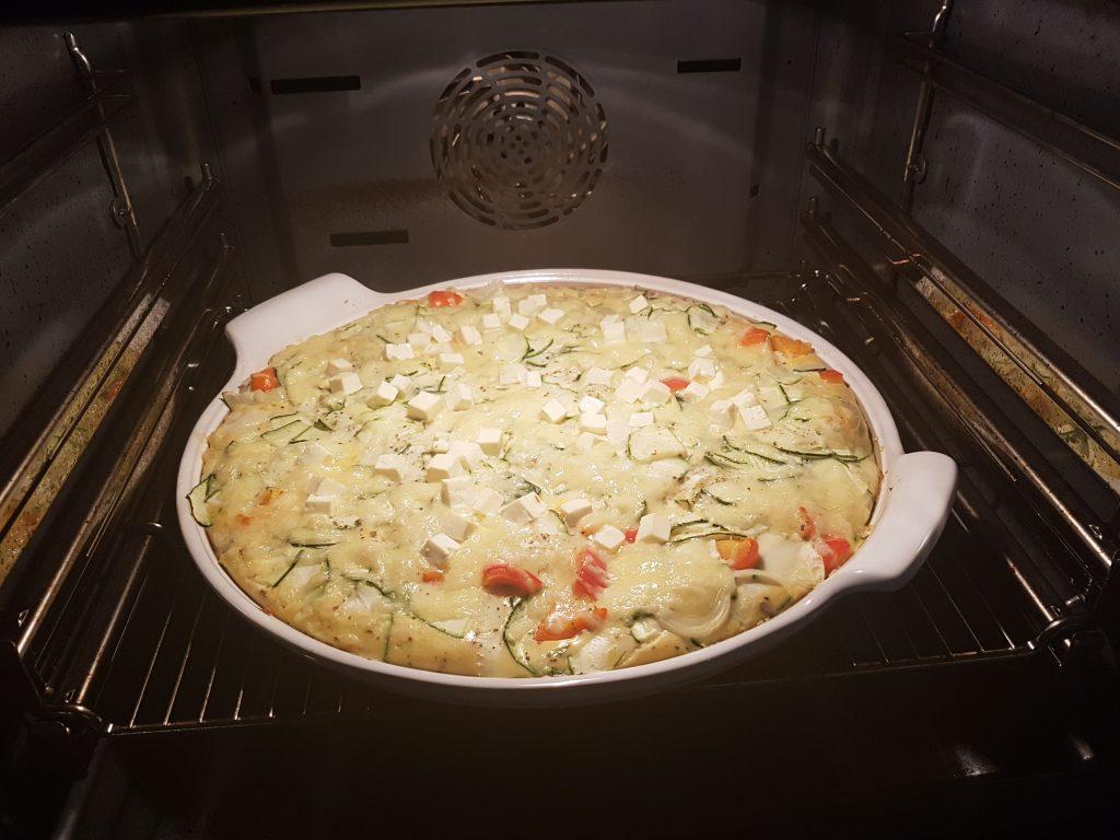 White Lady mit Zucchini Frittata