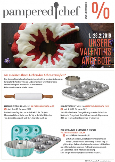 Valentinstag Angebot 2019
