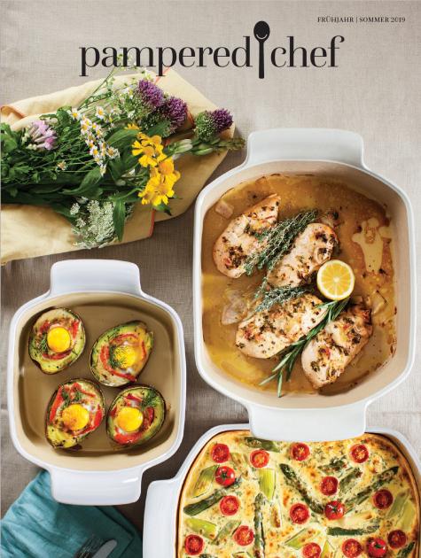 Pampered Chef Katalog Frühjahr Sommer 2019